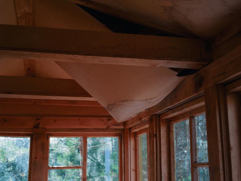 roofing leak