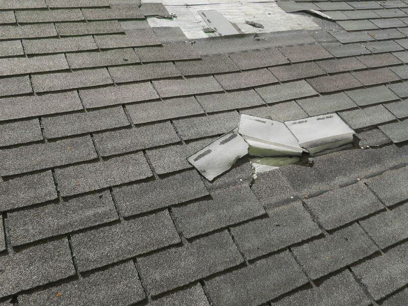 hail damage to roof